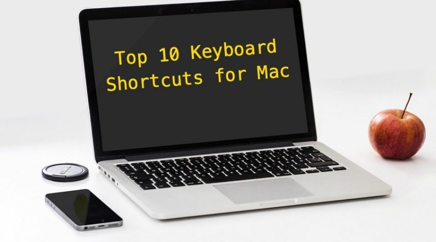 Top 10 Keyboard Shortcuts for Mac