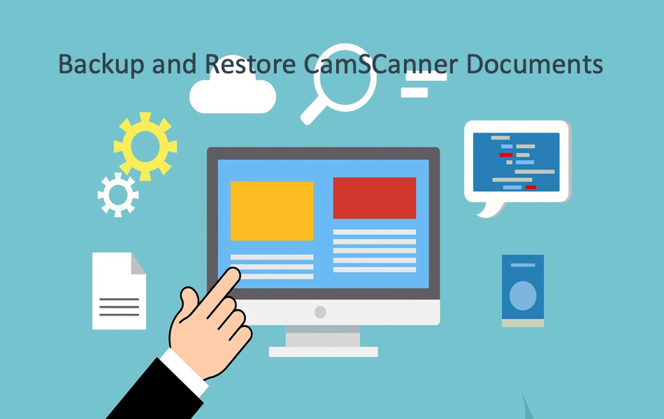 Backup and Restore CamSCanner Documents