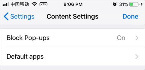 Block Pop-ups in Chrome Mobile