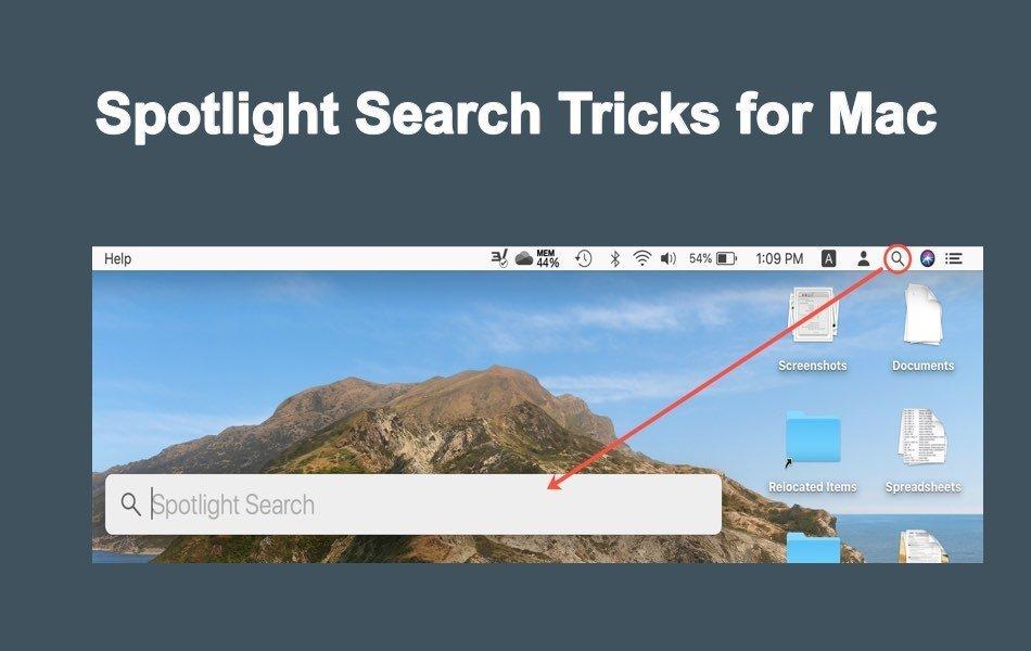 Spotlight Search Tricks for Mac