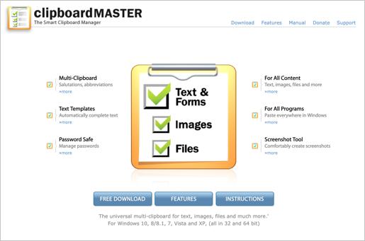 Clipboard Master App