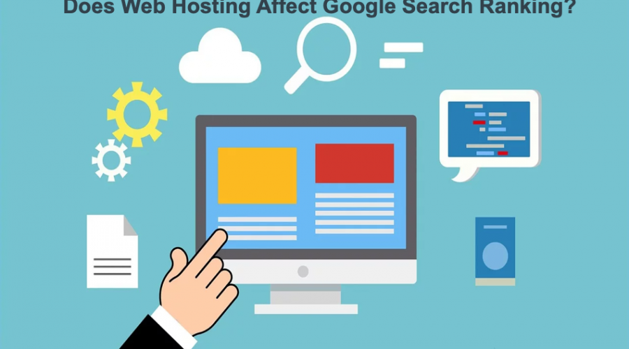 Does Web Hosting Affect Google Search Ranking?