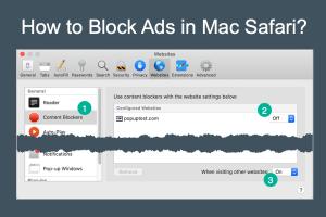 How to Block Ads in Mac Safari?