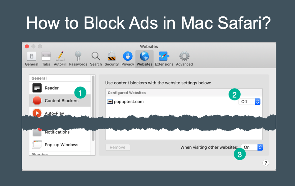 How to Block Ads in Mac Safari?