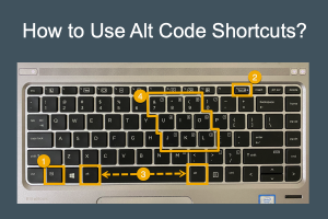 How to Use Alt Code Shortcuts