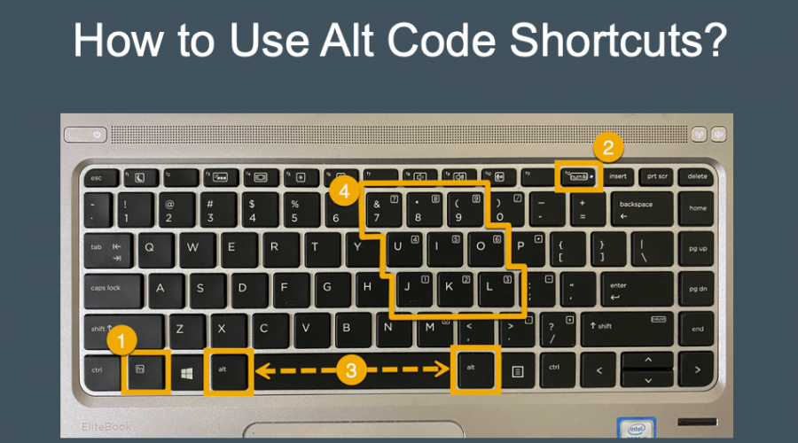 How to Use Alt Code Shortcuts?