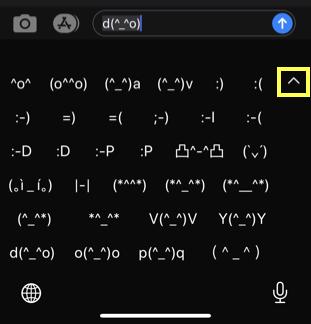 Larger Keyboard View