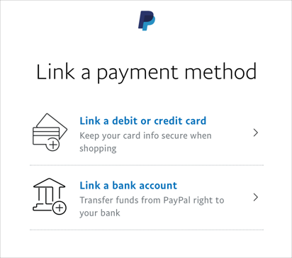 Link Payment Method in PayPal China
