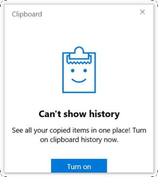 Open Clipboard History