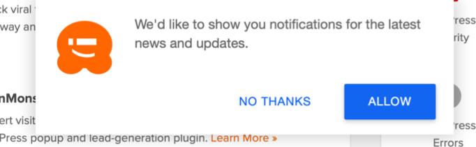 Push Notification Confirmation on Mac Safari