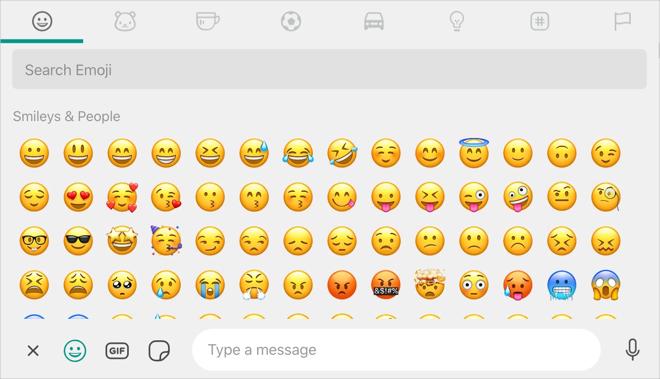Type Emoji in WhatsApp Web and Desktop