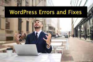 5 Common WordPress Errors with Fixes