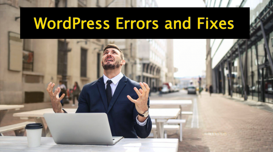 5 Common WordPress Errors with Fixes