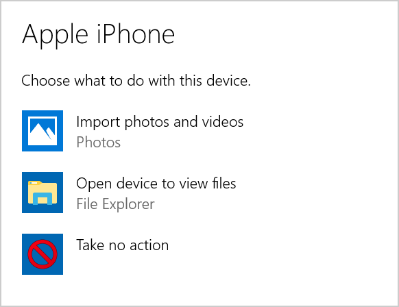 Access iPhone Photos in Windows PC