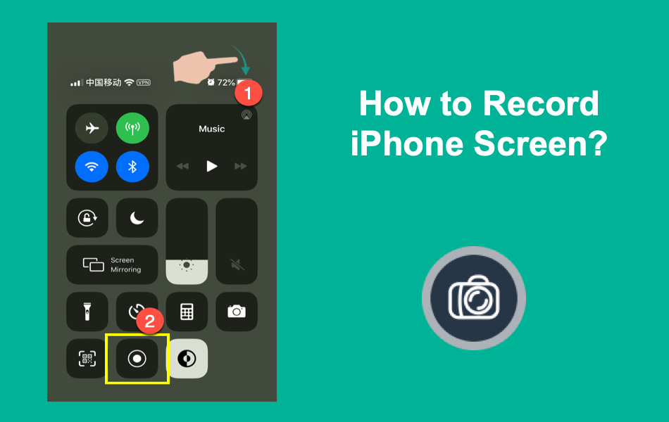 How to Record iPhone Screen?