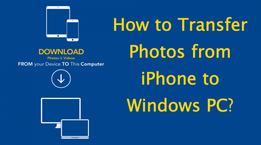 3 Ways to Send Photos from iPhone to Windows PC
