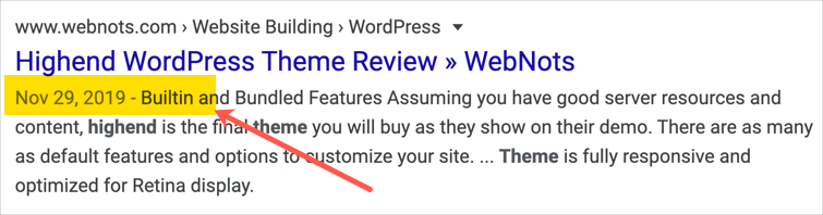 Star Review Missing in Google Search