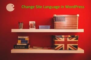 Change Site Language in WordPress