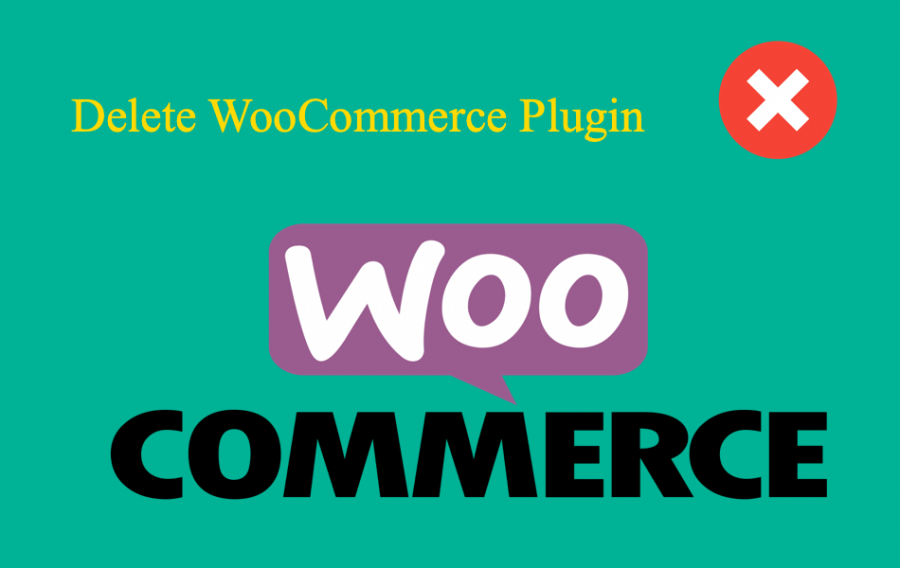 Delete WooCommerce Plugin