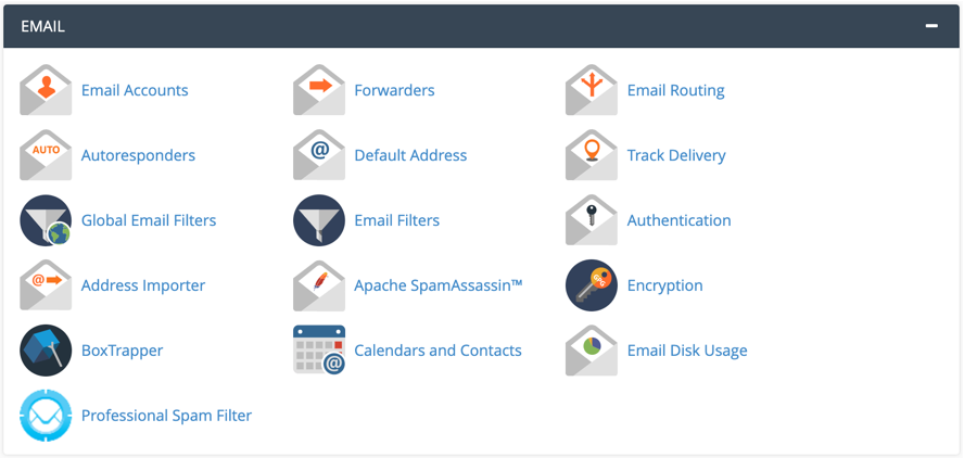 Email Features in cPanel