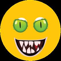 Winking Emoji in Happy