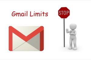 Gmail Limits