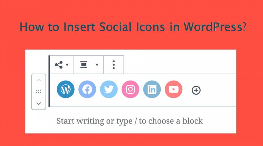 How to Add and Customize Social Icons in WordPress?