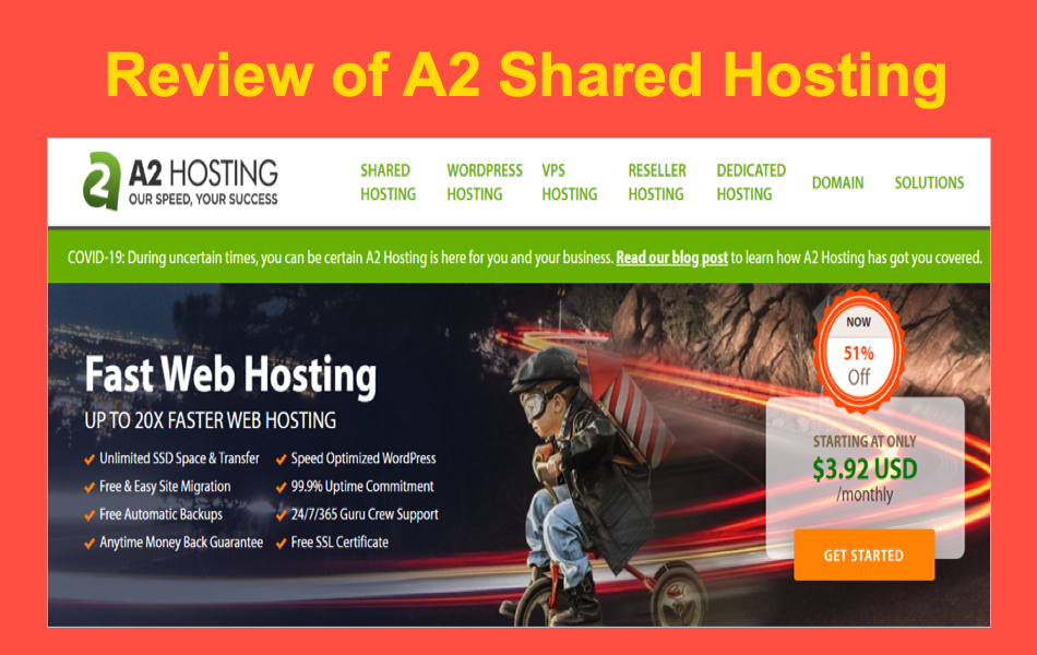 Review of A2 Shared Hosting