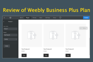 Review of Weebly Business Plus Plan