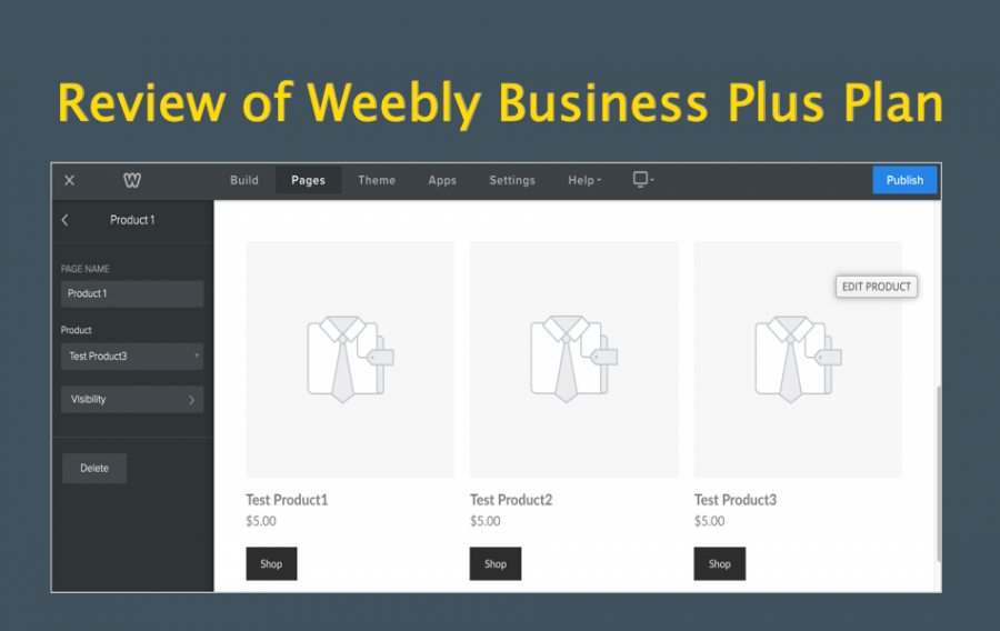 Review of Weebly Performance or Business Plus Plan