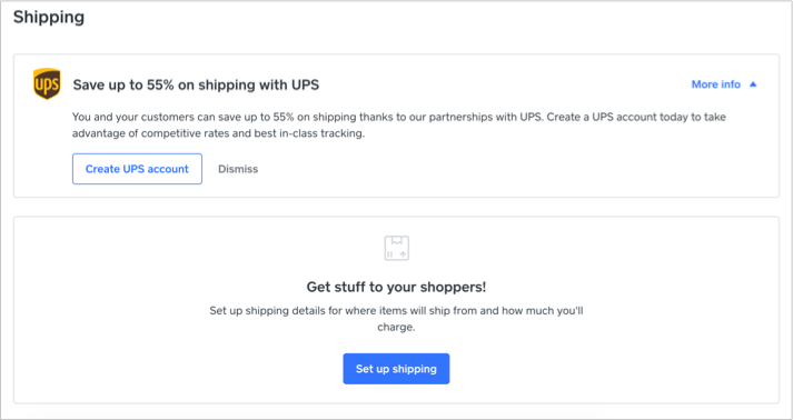 Setup Shipping with Discount