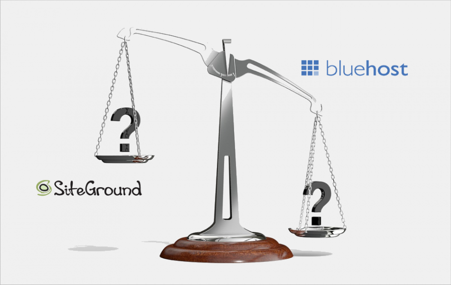 SiteGround Vs Bluehost Shared Hosting Comparison