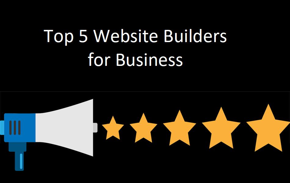 Top 5 Website Builders for Business