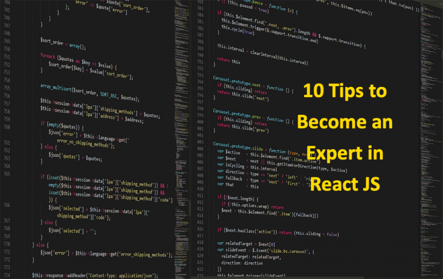 10 Tips to Become an Expert in React JS