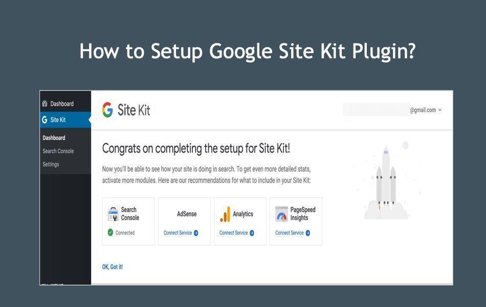 How to Setup Google Site Kit Plugin?