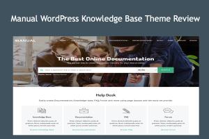 Manual WordPress Knowledge Base Theme Review