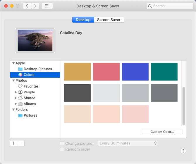 Setup Color as Wallpaper