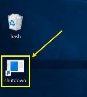 Shutdown Desktop Shortcut