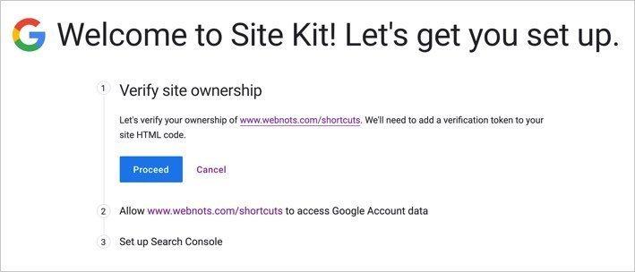 Site Verification Step