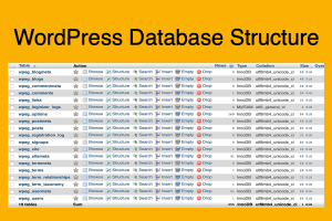 WordPress Database Structure