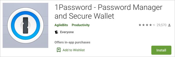 1Password Менеджер паролей