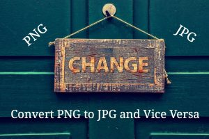 Convert PNG to JPG and Vice Versa