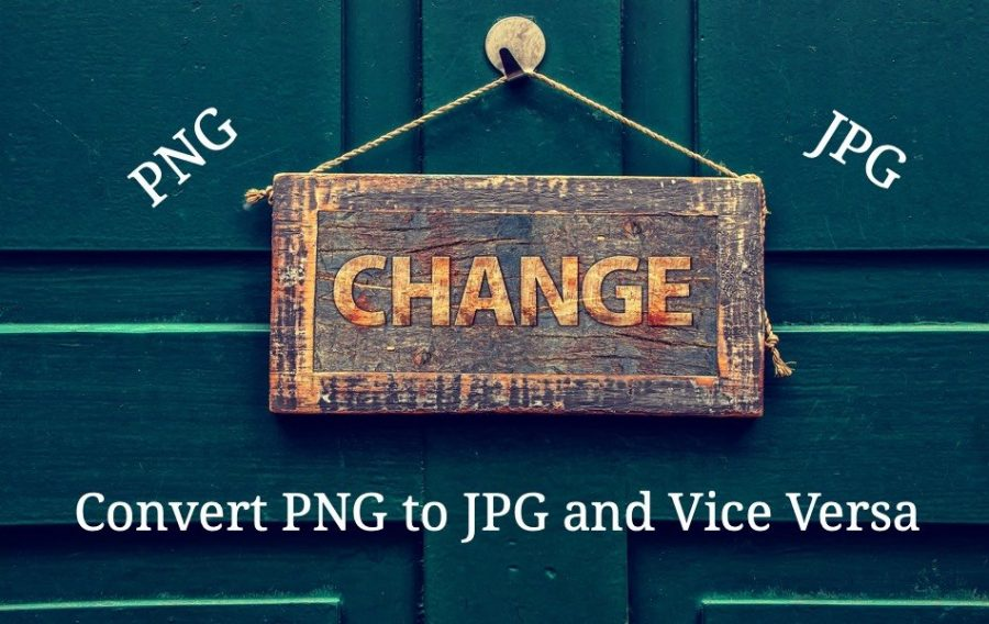 How to Convert PNG to JPG and Vice Versa?