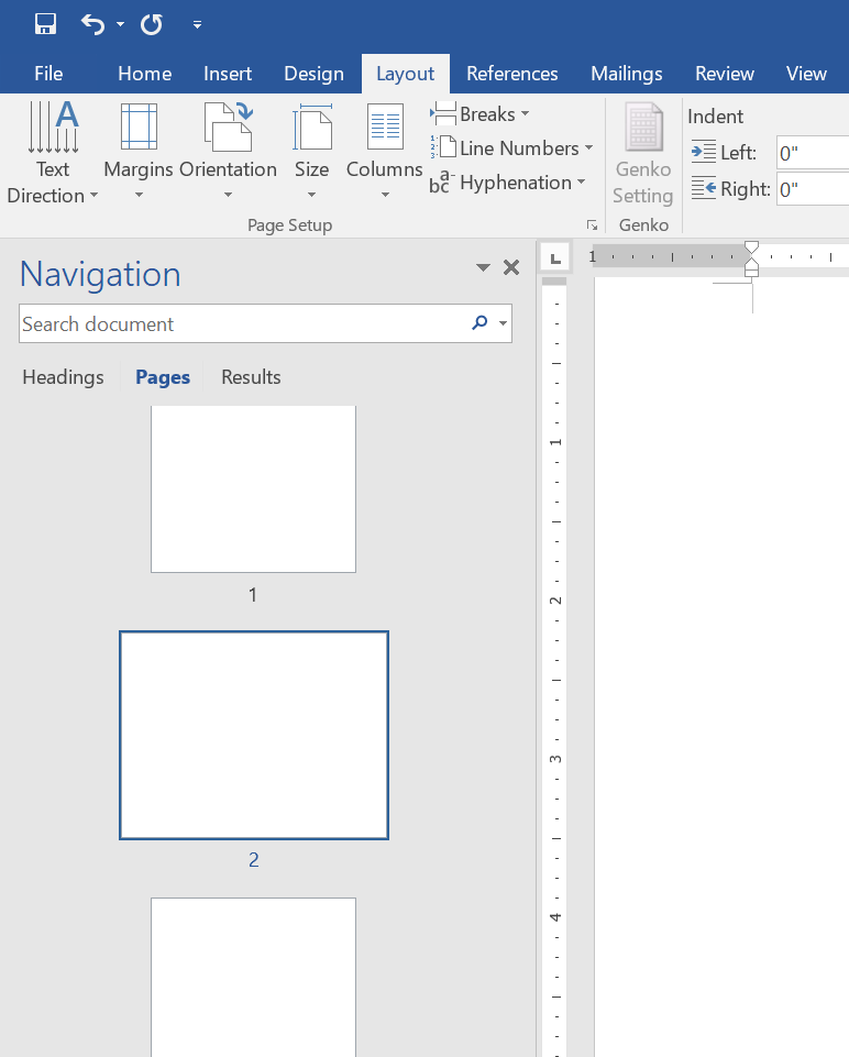 Different Orientation for Different Pages in Word