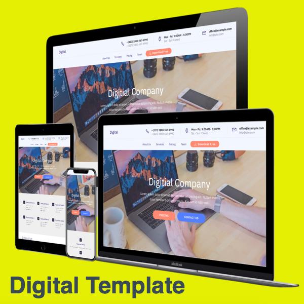 Digital Template