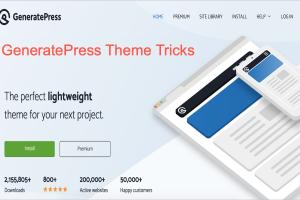 GeneratePress Theme Tricks