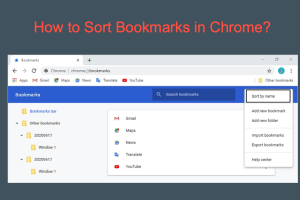How to Sort Bookmarks in Chrome?