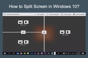 How to Split Screen in Windows 10?