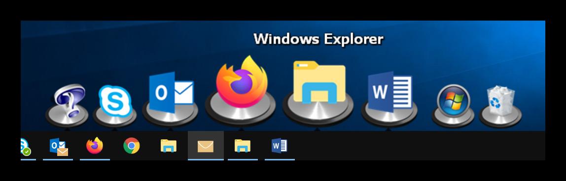 ObjectDock in Windows 10 Laptop