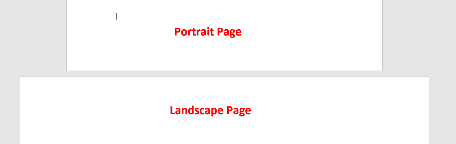Page Layout Changed